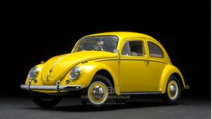 1/12 VW フォルクスワーゲン ビートル 1961 イエロー