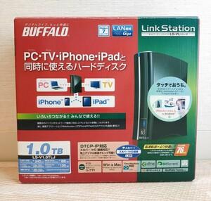 LS-V1.0TLJ 未使用品 BUFFALO Link Station 1TB ネットワーク ハードディスク
