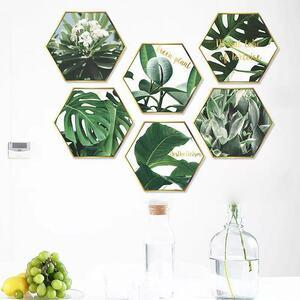(NO.267)DIY剥がせる壁飾りウォールステッカー綺麗な仕上がり 植物額縁