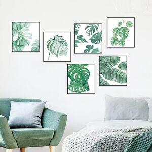 (NO.274)DIY剥がせる壁飾りウォールステッカー綺麗な仕上がり 植物額縁