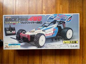 ニッコー ラジコン・1/14SCALE・フレームバギー・バックファイヤー4WD
