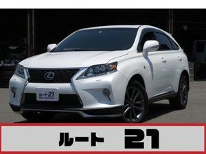 RXハイブリッド 450h Fスポーツ 4WD サンルーフ 本革 ナビ フルセグTV