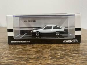 【新品】 INNO 1/64 トヨタ スプリンタートレノ AE86