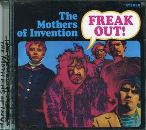 CD THE MOTHERS OF INVENTION FREAK OUT!