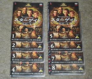 スターゲイト SG1 シーズン2 ≪全8巻セット≫ レンタル落ち 【中古DVD】