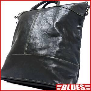 即決★INDEED★オールレザートートバッグ インディード メンズ 黒 本革 ハンドバッグ 本皮 かばん 通勤 ショルダーバッグ 出張 カバン 2way