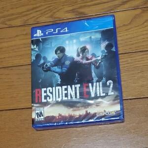 PS4 バイオハザードRE:2 北米版 Resident Evil RE2