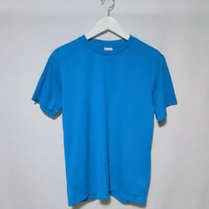 美品 イグニオ IGNIO スポーツウェア トレーニングウェア Tシャツ 半袖 M 青 ブルー メンズ /P