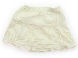 セラフ Seraph スカート 80 女の子 白 子供服 ベビー服 キッズ(341606)