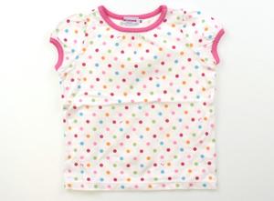 ミキハウス miki HOUSE Tシャツ・カットソー 80 女の子 白、ピンク、赤、オレンジ、黄緑、ブルー 子供服 ベビー服 キッズ(556486)