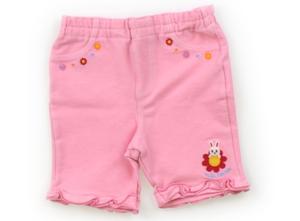 ミキハウス miki HOUSE ショートパンツ 70 女の子 ピンク 子供服 ベビー服 キッズ(600232)