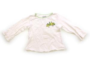 ソニアリキエル SONIA RYKIEL Tシャツ・カットソー 100 女の子 白黄緑 子供服 ベビー服 キッズ(710158)