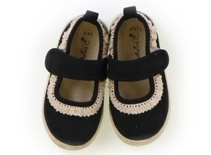 キャサリン・コテージ Catherine Cottage フラットシューズ・スリッポン 靴14cm~ 女の子 黒 子供服 ベビー服 キッズ(767361)