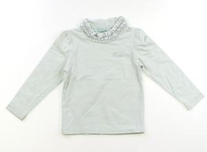 トッカ Tocca Tシャツ・カットソー 90 女の子 黄緑・フリル 子供服 ベビー服 キッズ(762303)