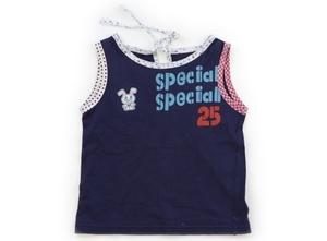 ニットプランナー(KP) Knit Planner(KP) Tシャツ・カットソー 110 女の子 青・ドット柄・チェック柄・花柄 子供服 ベビー服 キッズ(7