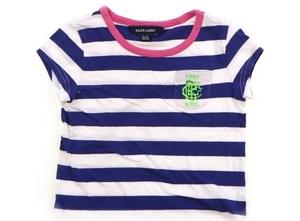 ラルフローレン Ralph Lauren Tシャツ・カットソー 100 女の子 紺白ボーダー、黄緑刺繍 子供服 ベビー服 キッズ(782228)