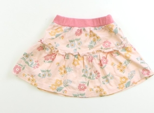 コンビミニ Combimini スカート 80 女の子 ピンク・花柄 子供服 ベビー服 キッズ(791236)
