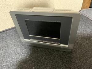 CASIO カシオ DV-900W ポータブルDVDプレーヤー