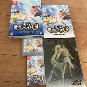 無双orochi3 プレミアムbox「特典未使用」 Nintendo Switch ニンテンドースイッチ