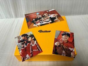 bts butter アルバム1種 新品未再生 コカコーラbtsトレカ2枚とフォトカード1枚付き ジン テテ ホソク オール