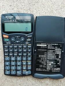 関数電卓 SHARP ピタゴラス EL-509F