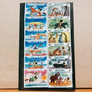 ディズニー切手シート