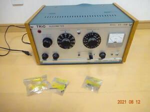 TRIO トリオ AS-91M オーディオメーター 動作未確認品 ジャンク扱い