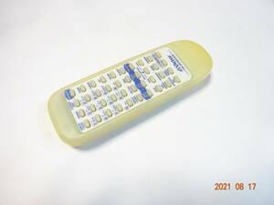 ビクター RM-SRCMD330W RC-MD330用リモコン clavia CD/MD/TAPE ラジカセ用リモコン Victor