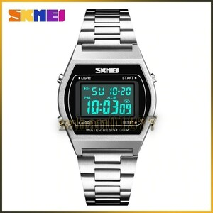★メンズ腕時計トップブランドの高級 Skmei 有名な LED デジタル腕時計男性用時計腕時計男性ヘレン