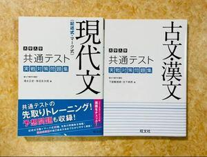 大学入学共通テスト 現代文、古文・漢文実践対策問題集
