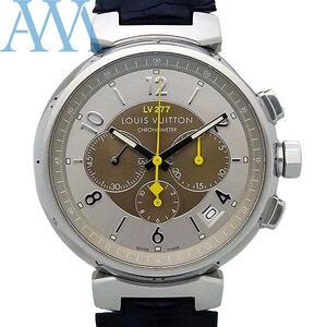 【LOUIS VUITTON ルイヴィトン】タンブール クロノグラフ Q1142 世界限定277本 メンズ 腕時計【美品中古】