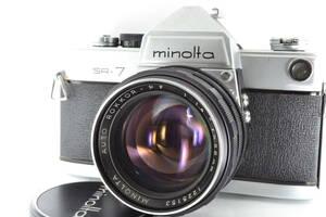 ★難あり★ ミノルタ MINOLTA SR-7 + AUTO ROKKOR-PF 58mm F1.4 セット #iw956