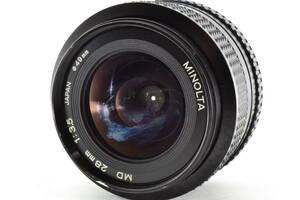 ★実用美品★ ミノルタ MINOLTA NEW MD 28mm F3.5 #3226