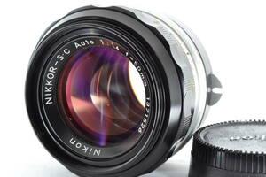 ★良品★ ニコン Nikon NIKKOR-S・C Auto 50mm F1.4 #3277