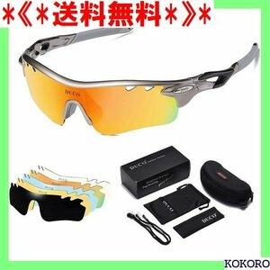 《*送料無料*》 DUCO 0025 テニス/スキー/ランニング/ゴルフ/マラ 偏光サングラス メンズ スポーツサングラス 122