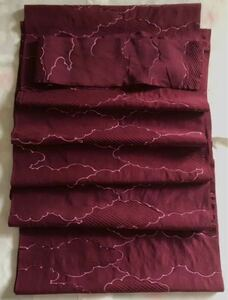 リメイク素材 ハギレ 着物 羽織ほどきかけ 正絹 (4)