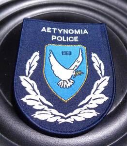 ◎ ◎ Dual ◆ Новая неиспользуемая Греция Polizei Aetynomia1960 полицейская полиция полиции полиции голубя Hatwa Pen ◆ (патч) ◆ ■ ■ Sabage