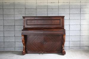 フランスアンティーク◇古いCHARTIERピアノ/Piano/楽器インテリア/オブジェ/店舗什器/ディスプレイ/フレンチビンテージ/ヴィンテージ家具