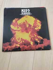 Kiss THE ORIGINALS LP盤レコード 歌詞カード パンフレット付き アルバム 3枚セット キッス ロック オリジナル