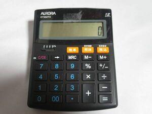 オーロラ DT350TX 卓上 電卓 税率
