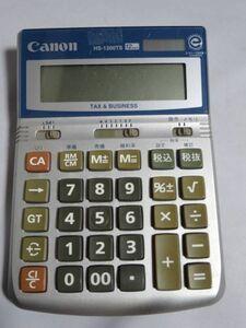 Canon HS-1200TS 12桁 電卓 計算機  TAX&BUSINESS