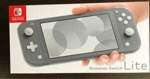 Nintendo Switch Lite グレー スウィッチライト