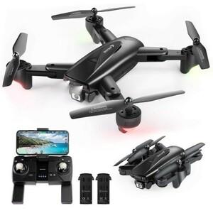 ドローン カメラ付き GPS搭載 200g未満 2K 110度広角HDカメラ 26分飛行 自動ホバリング