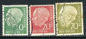 ☆ドイツ:西ドイツの初代連邦大統領「テオドーア・ホイス」