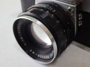 MINOLTA ミノルタ AUTO ROKKOR-PF 1:1.8 f=55mm