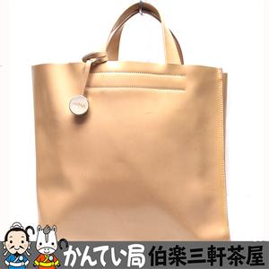 FURLA【フルラ】トートバッグ ピンク レザー レディース【中古】