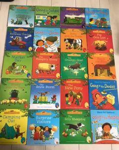 英語絵本 usborne farmyard tales 20冊セット