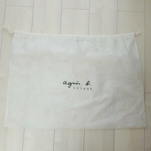 アニエスb. agnes b. アニエスベー 保存袋 51cm×71cm