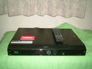 <DVD難有り>1ヶ月保証 シャープ BD-HD22  HDD/DVD/ブルーレイ/ レコーダー  新品リモコン  B-CASカード付き