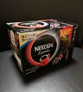 ネスカフェエクセラ レギュラーソリュブルコーヒー スティックコーヒー 100本入